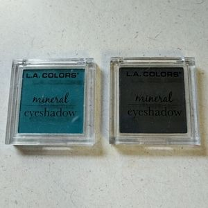 🌹5/25🌹 L.A. Colors Bundle of 2 Mineral Eyeshadow